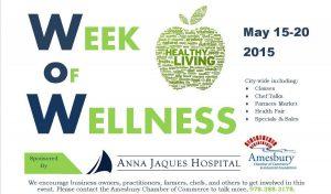 Amesbury Chamber Week of Wellness