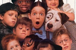 movies in the millyard - little rascals