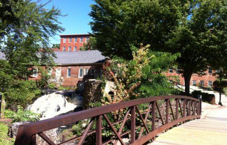 Amesbury, Massachusetts - Riverside walkway
