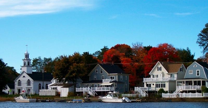 Amesbury, Massachusetts In The Fall