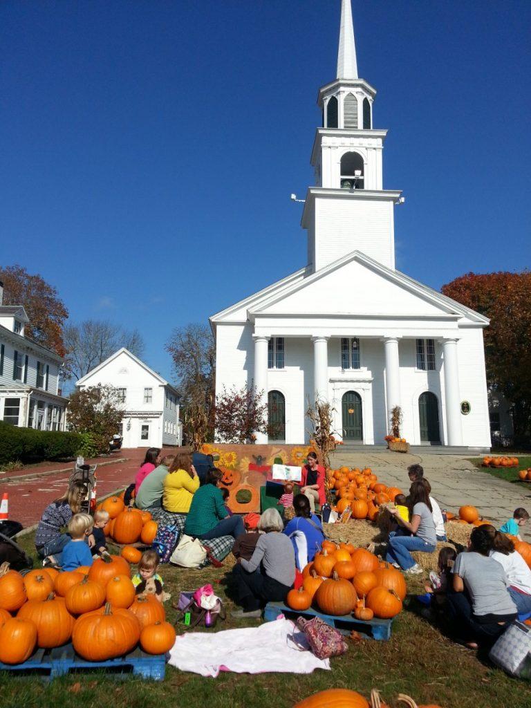 Main Street Church Pumpkins