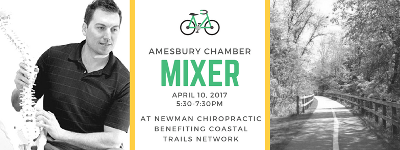 Amesbury Chamber Mixer @ Newman Chiropractic