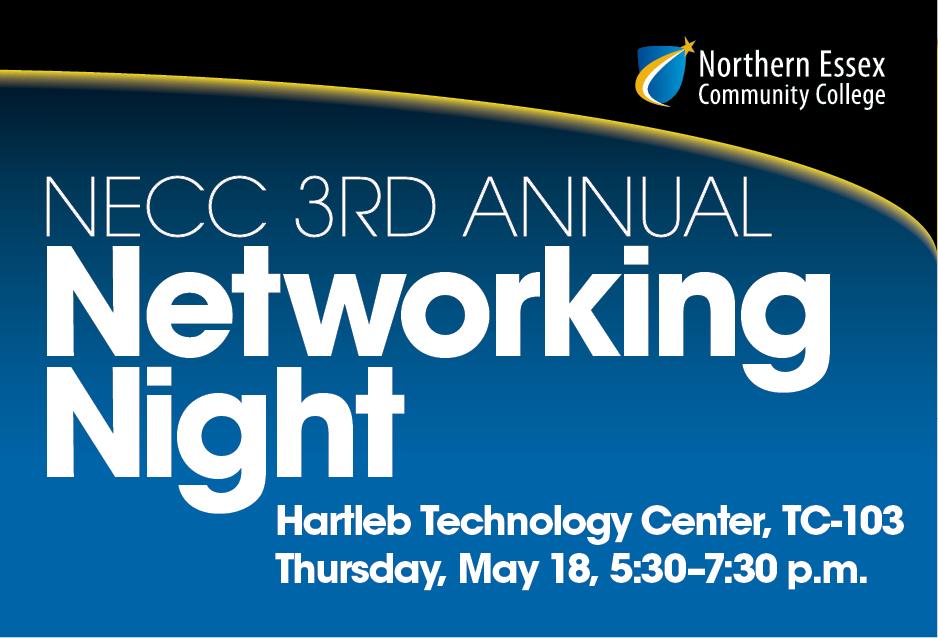 NECC 3rd Annual Networking Night @ Hartleb Technology Center TC-103