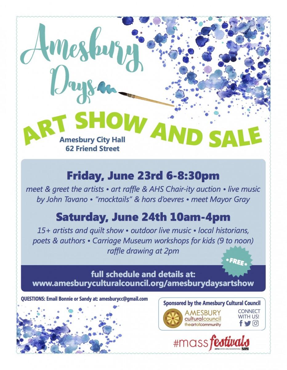 Art Show & Sale @ Amesbury City Hall