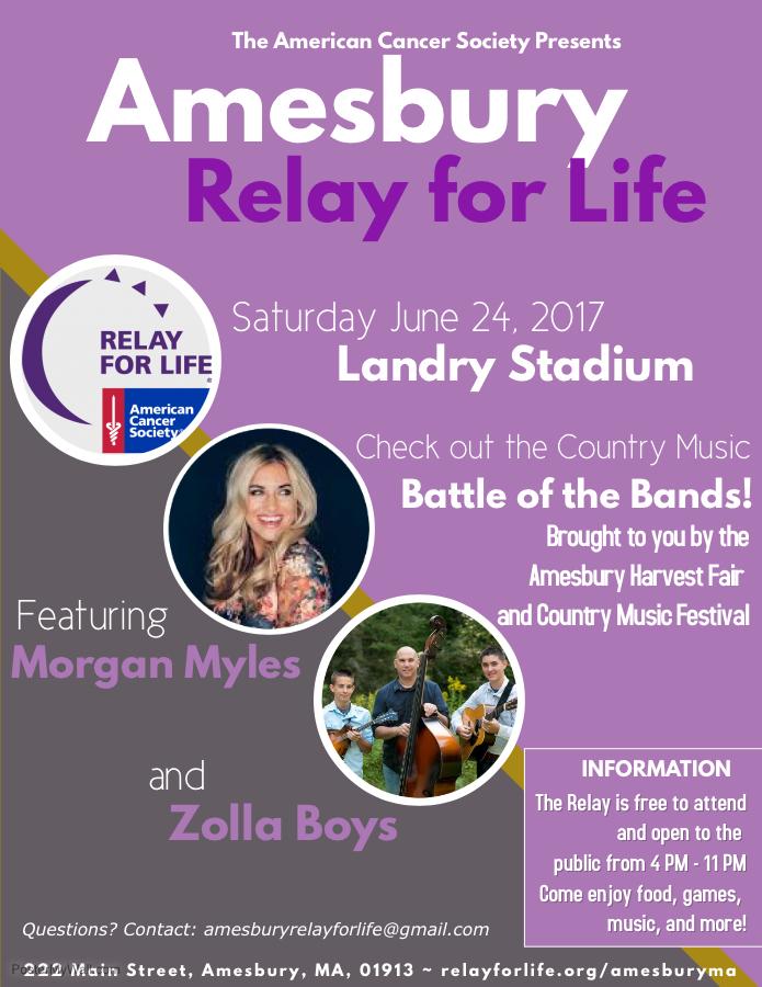 Relay For Life of Amesbury @ Landry Memorial Stadium