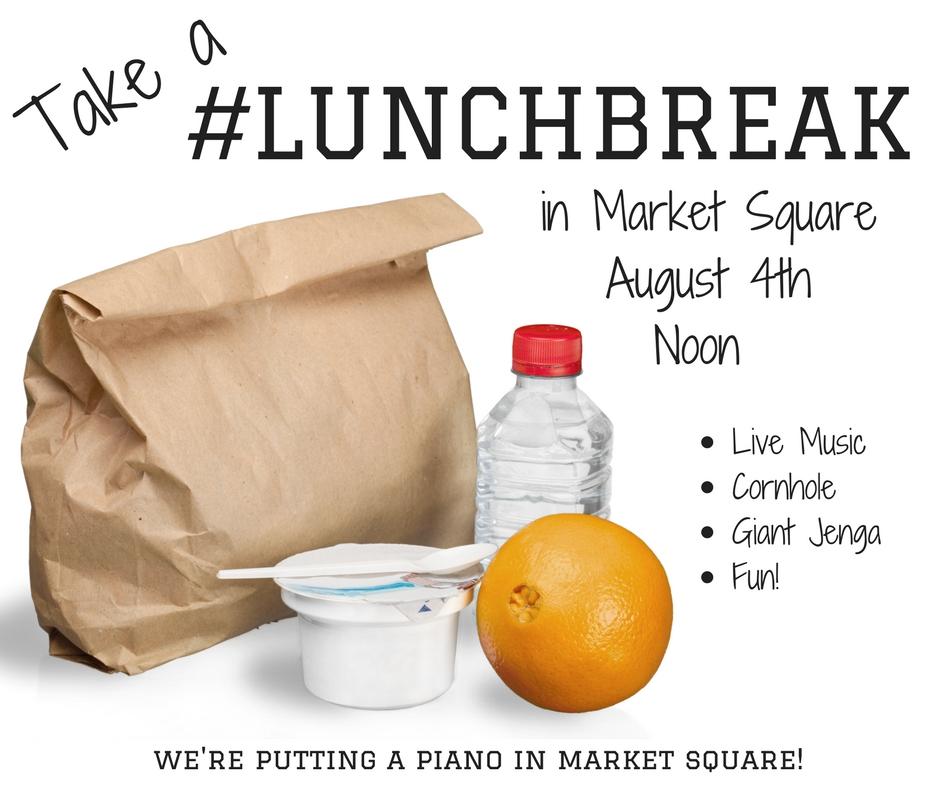#LunchBreak in Market Square @ Market Square